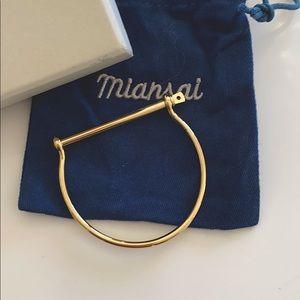 Miansai thin screw cuff